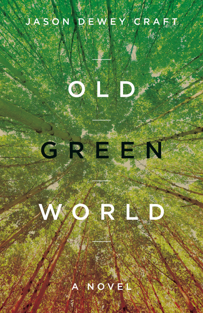 The cover to the novel Old Green World